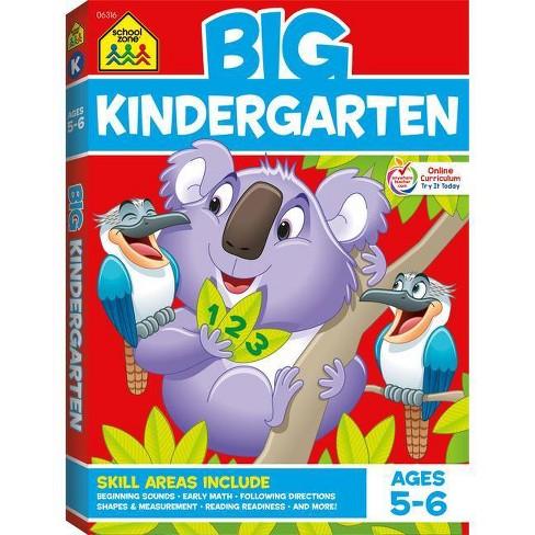 School Zone Big Kindergarten Workbook - Paperback - image 1 of 4