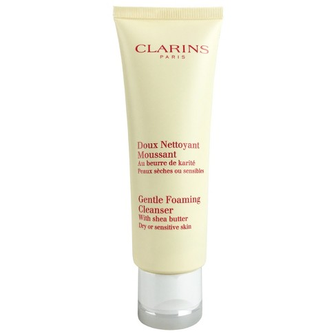 Clarins Gentle Foaming Cleanser Dry/Sensitive Skin - 125ml - image 1 of 1