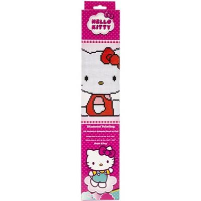 """Vervaco Diamond Art Kit 8.75""""X8.75""""-Hello Kitty"""