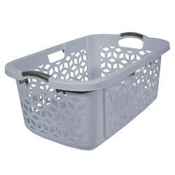2 Bushel Stacking Laundry Basket Gray - Room Essentials™