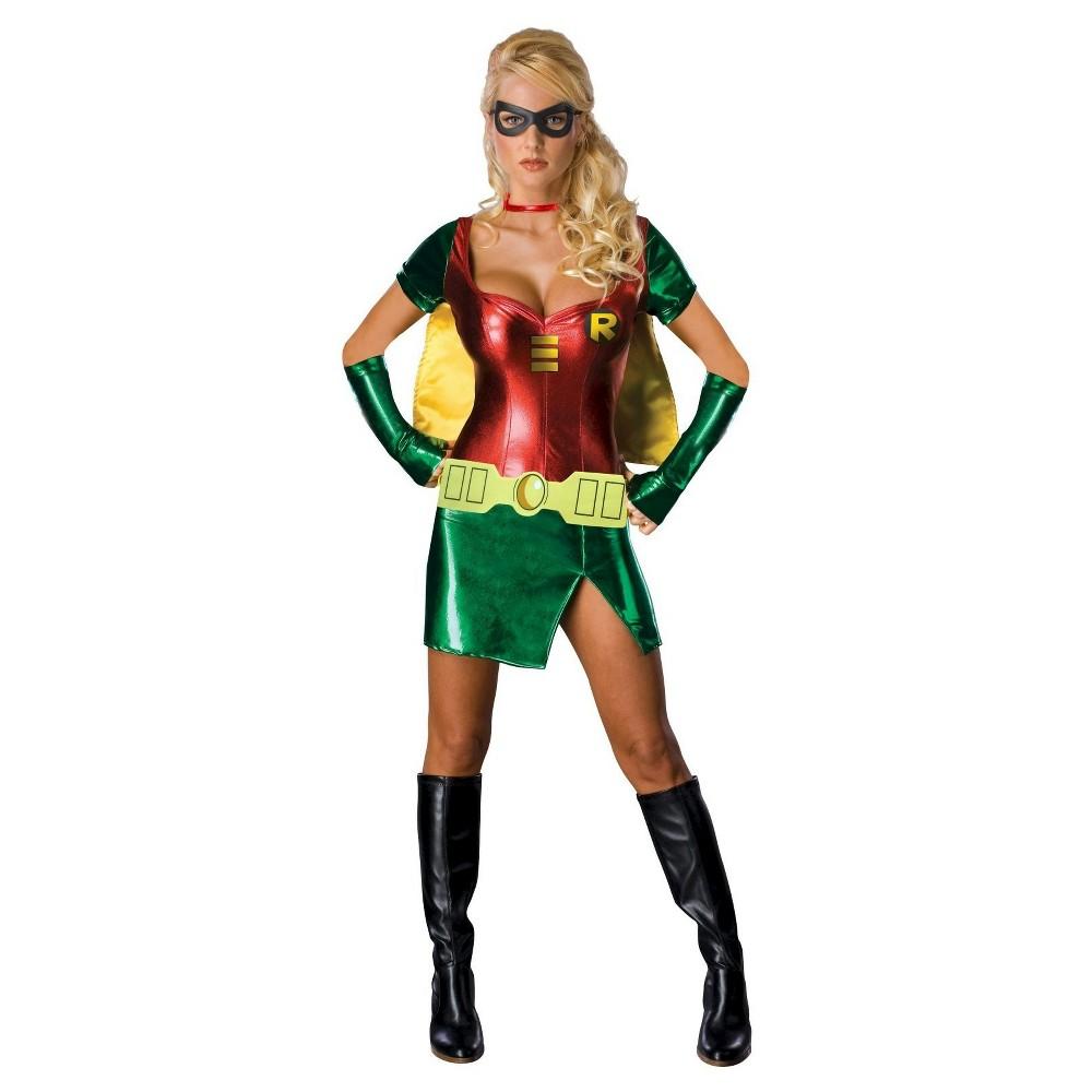 Robin Women's Costume - Medium, Red