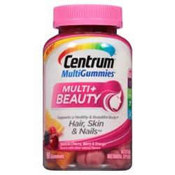 Centrum Multivitamin & Beauty Gummies - Cherry, Berry & Orange - 90ct