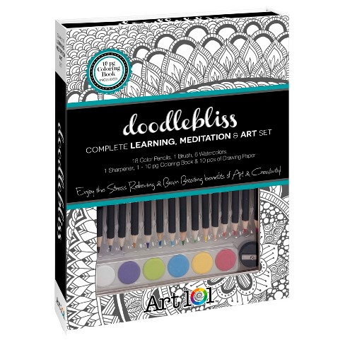 Large Doodlebliss Book Box - Art 101 - image 1 of 2