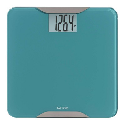 Glass Digital Scale with Stainless Steel Accents Green - Taylor