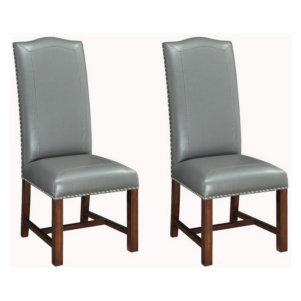 Christopher Knight Home Set of 2 Coyneer Dining Chairs Gray