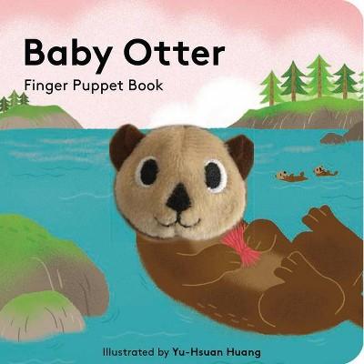 Baby Otter: Finger Puppet Book - (Hardcover)
