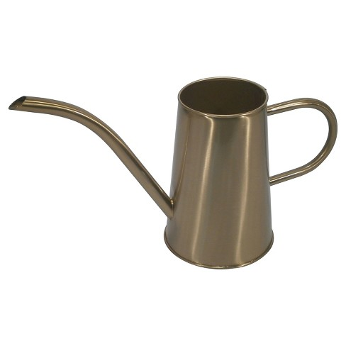 2.5ltr Iron Watering Can Bright Gold - Threshold™ - image 1 of 1