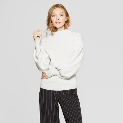 Women's Bishop Sleeve Pullover Sweater – A New Day™ Light
