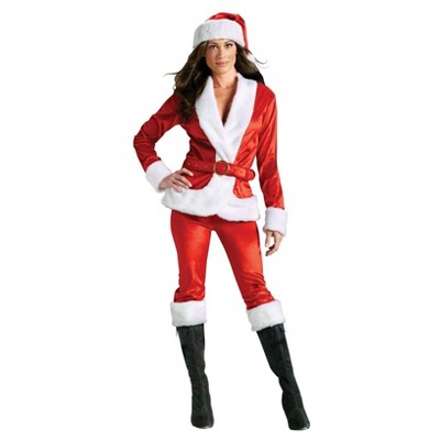 Santa claus shirt adult costume
