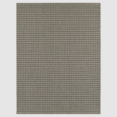 Coffee Stripe Outdoor Rug - 8'x10' - Smith & Hawken™