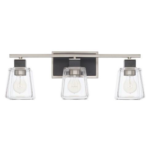 "Capital Lighting 125231-445 Tux 3 Light 23"" Wide Bathroom Vanity Light - image 1 of 1"