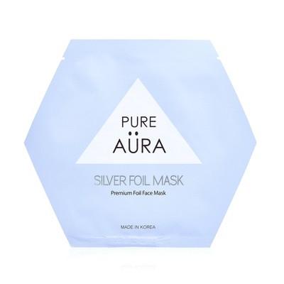 Pure Aura Silver Foil Mask - 0.88 fl oz