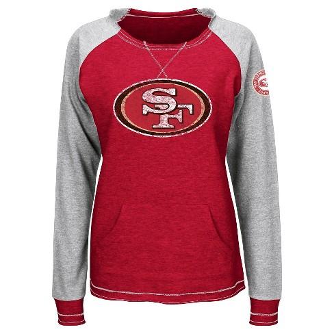 San Francisco 49ers Women's Activewear Sweatshirt L - image 1 of 1
