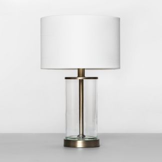 Fillable Accent with USB Table Lamp  Brass - Project 62™