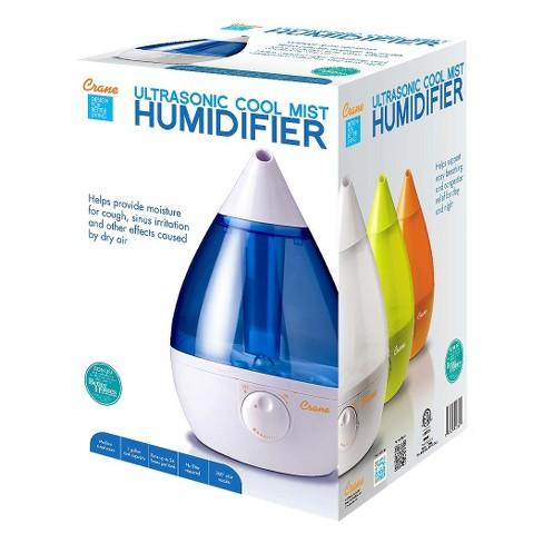 Crane Drop Ultrasonic Cool Mist Humidifier 10 Gallon Target