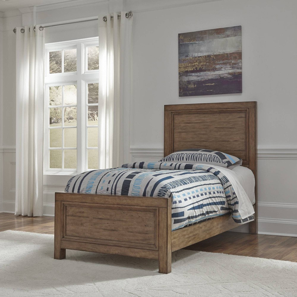Twin Sedona Bed Toffee Brown - Home Styles