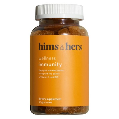 hims & hers Immunity Gummies - Vitamin C + B12 - Citrus Flavor