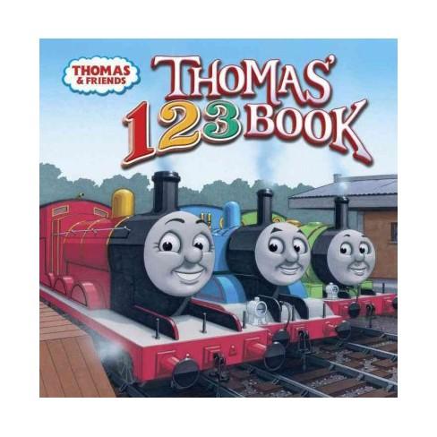 Thomas' 123 Book (Thomas & Friends) - (Thomas & Friends (8x8)) by  W Awdry (Paperback) - image 1 of 1