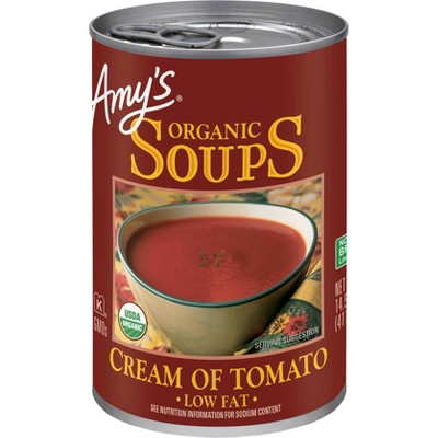 Amy's Organic Low Fat Cream of Tomato Soup - 14.5oz