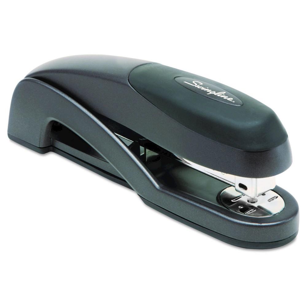 Swingline Optima Desk Stapler, 25 Sheet Capacity - Multicolor, Grey