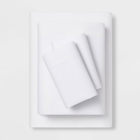 Easy Care Solid Sheet Set - Room Essentials™ - image 1 of 1