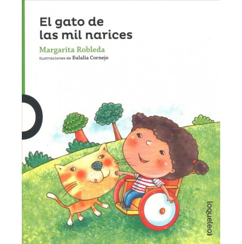 El gato de las mil narices / The Cat with the Thousand Noses (Paperback) (Margarita Robleda) - image 1 of 1