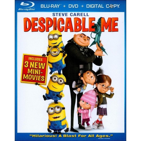 Despicable Me (Blu-ray + DVD + Digital Copy) (2010)