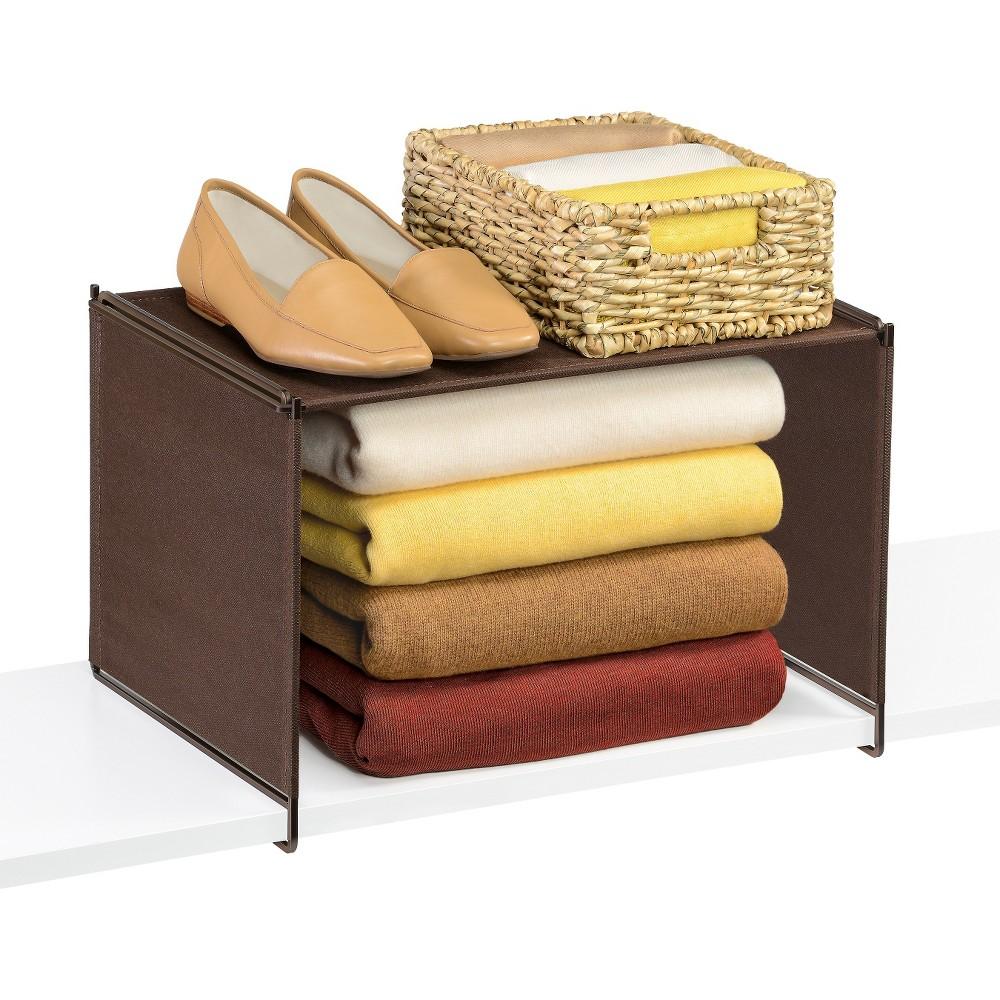 Lynk Vela Locking Closet Shelf Organizer - Extra Shelf - Bronze, Bronze Brown