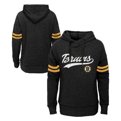 NHL Boston Bruins Girls' OT Fleece Hoodie - image 1 of 3