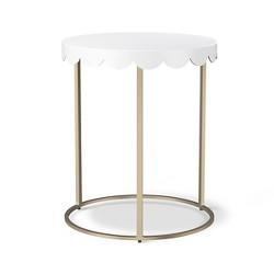 Scallop Kids Accent Table - Campanula White - Pillowfort™