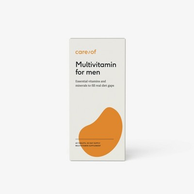 Care/of Multivitamin Supplements for Men - 60ct