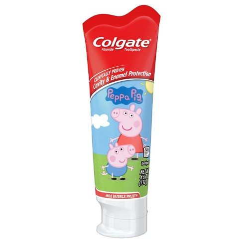 Colgate Kids Fluoride Toothpaste Peppa Pig - 4.6oz - image 1 of 3