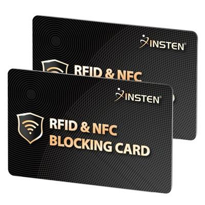 Insten 2x RFID & NFC Blocking Card
