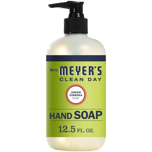 Mrs. Meyer's Clean Day Liquid Hand Soap Lemon Verbena Scent - 12.5 fl oz - image 1 of 4