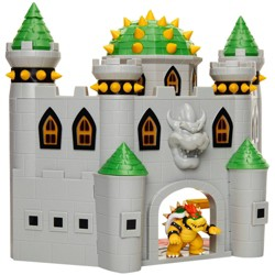 "Nintendo Super Mario Bowser Castle with 2.5"" Bowser Figure"