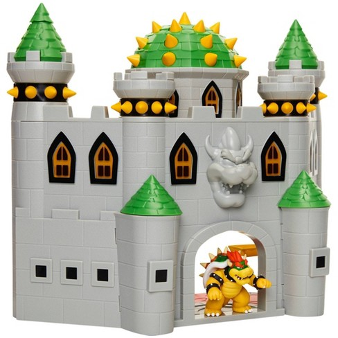 "Nintendo Super Mario Bowser Castle with 2.5"" Bowser Figure - image 1 of 4"