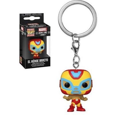 FUNKO POP! KEYCHAIN: Marvel Luchadores- Iron Man