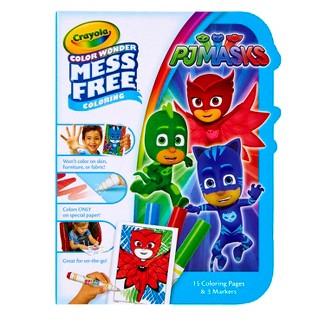 Crayola® Color Wonder Coloring Kit - PJ Masks