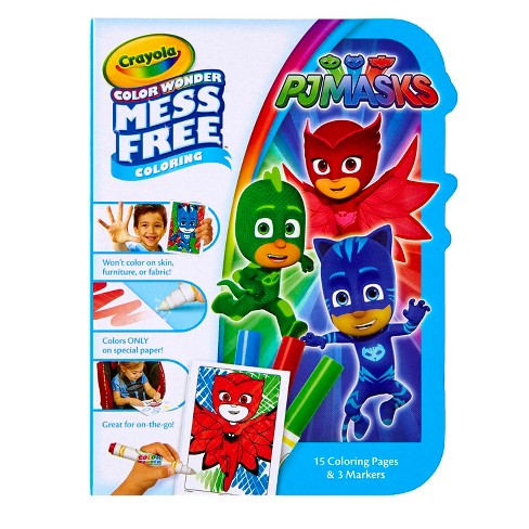 Crayola® Color Wonder Coloring Kit - PJ Masks - image 1 of 6