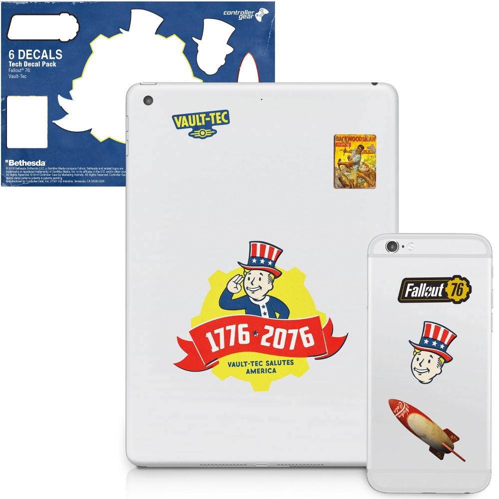 Fallout 76 Tech Decal Pack - Vault-Tec, Multi-Colored