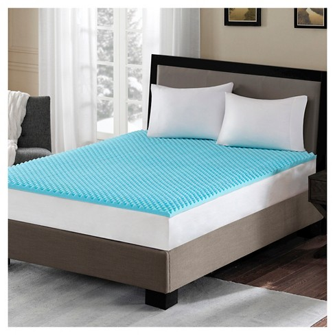 Gel Memory Foam Mattress Topper - image 1 of 1