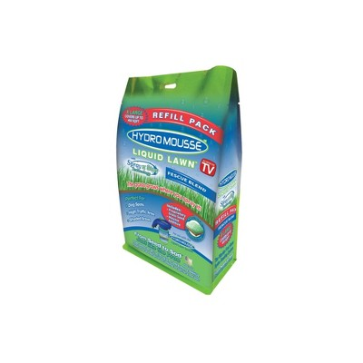 2lb HydroMousse Liquid Lawn Refill Fescue Seed - As Seen on TV