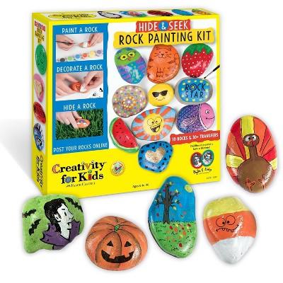 Hide & Seek Rock Painting Kit - Creativity for Kids