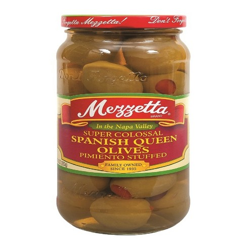 Mezzetta® Super Colossal Spanish Queen Olives - 10oz - image 1 of 1