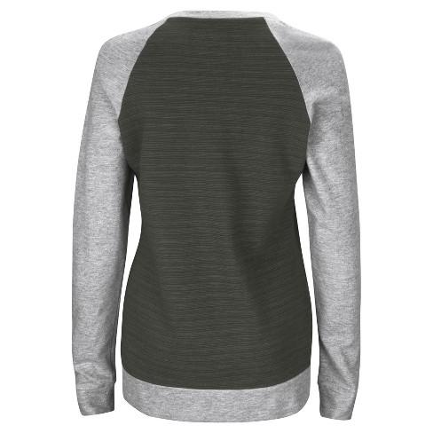 b1228e1fe Baltimore Ravens Women s Raglan Pullover Sweatshirt   Target