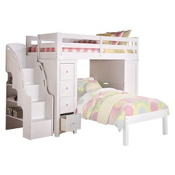 Enjoyable Lars Kids Loft Bed With Twin Bed Wenge Twin Twin Acme Pdpeps Interior Chair Design Pdpepsorg
