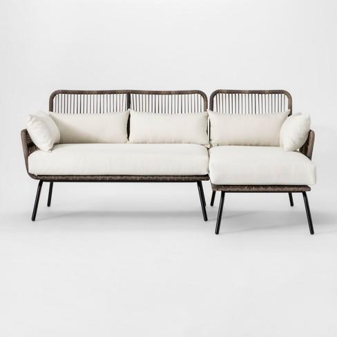 Latigo Patio Sectional Brown/Linen - Opalhouse™ - image 1 of 6
