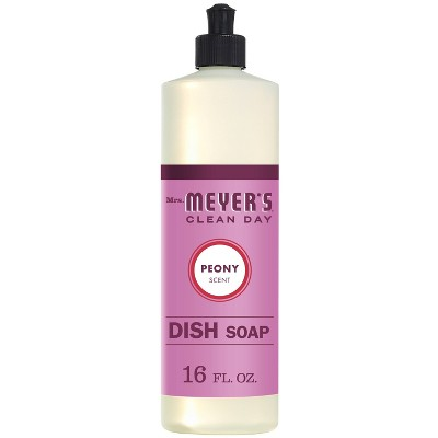 Mrs. Meyer's Peony Scented Dish Soap - 16oz