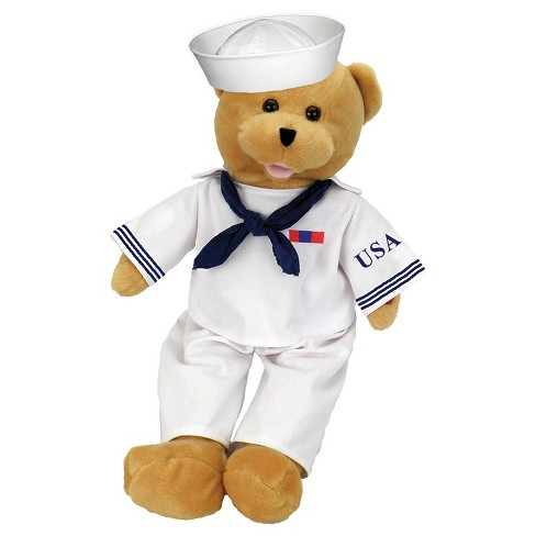 Chantilly Lane American Heroes Navy Bear - image 1 of 1
