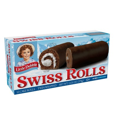 Little Debbie Swiss Rolls - 12ct/13oz